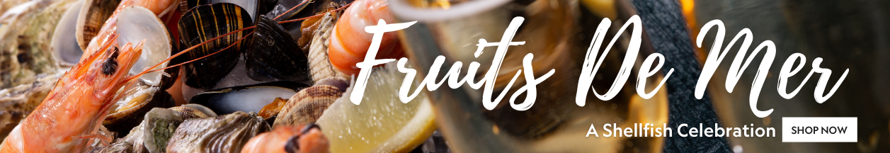 Fruits De Mer - A real Shellfish Treat