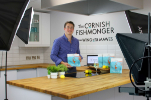 Jack Wing, The Cornish Fishmonger in our Kitchen TV Studio