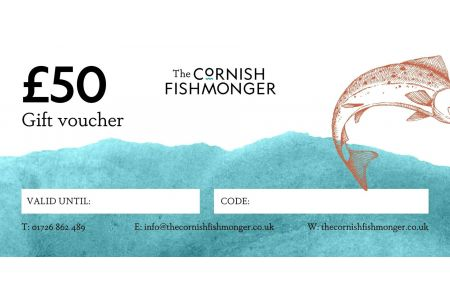 Seafood Gift Voucher £50