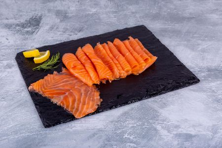 Smoked Salmon Loch Duart D Sliced
