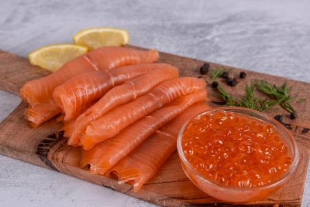 Red Lump Roe fish eggs