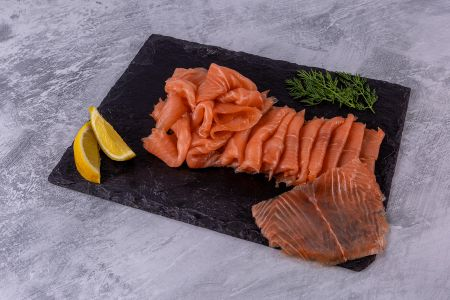 Smoked Salmon 500g D Sliced