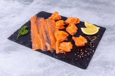Smoked Salmon Long Sliced 250g