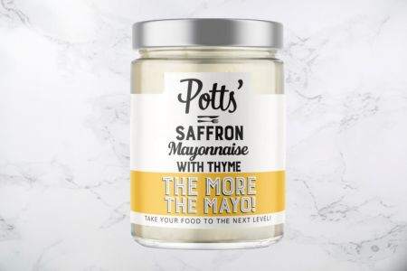 Saffron Mayonnaise With Thyme - 240g