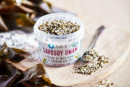 Cornish Sea Salt Savoury Umami Seaweed Salt