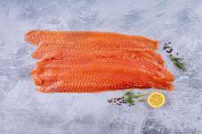 Smoked Salmon long sliced 500g