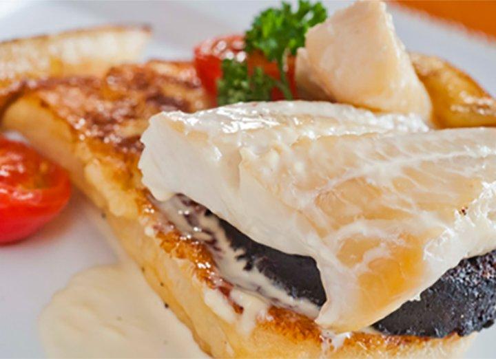 Smoked haddock with banana recipe