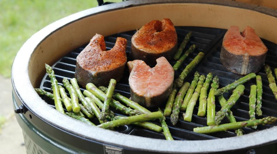 BBQ Sea Trout Steak