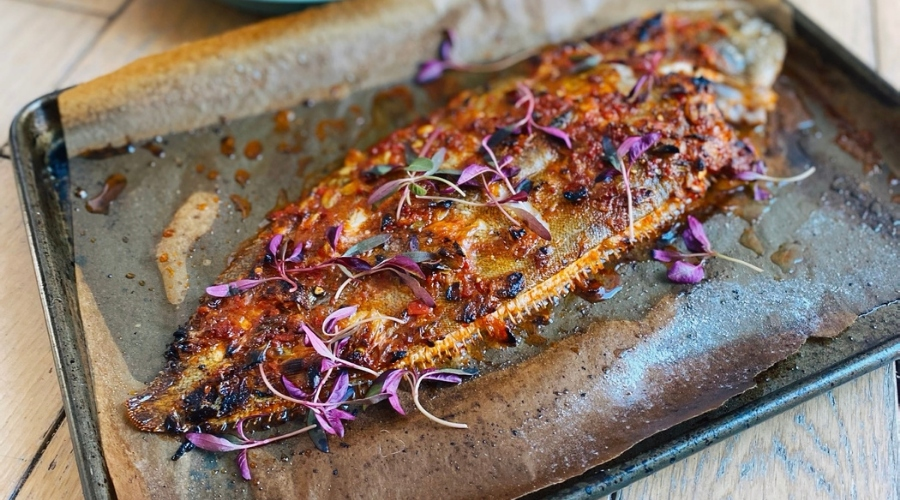 Chilli & Paprika Grilled Dover Sole