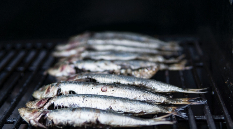 Griddled Tangy Sardines