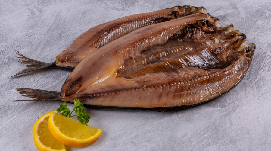 Simply Grilled Kippers