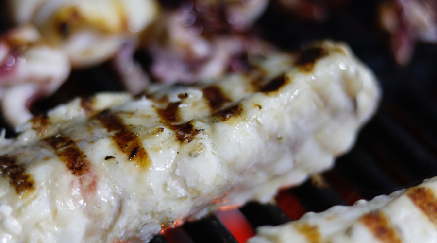 Barbecue Monkfish Tails
